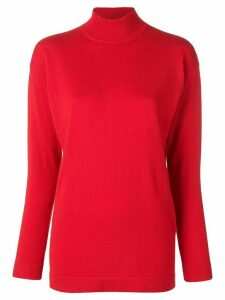 Tom Ford turtle-neck fitted sweater - Red