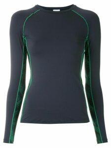Track & Field Surf Folhas blouse - Blue