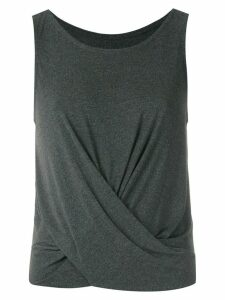 Track & Field Formas draped tank top - Grey