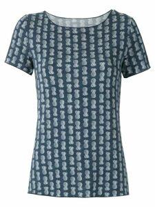 Track & Field Softmax printed T-shirt - Blue