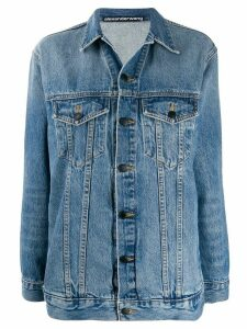 Alexander Wang relaxed denim jacket - Blue