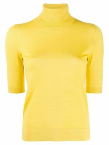 Dorothee Schumacher turtle neck jumper - Yellow