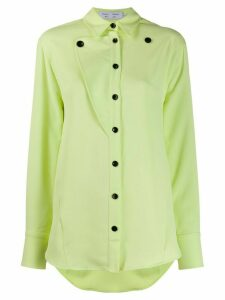 Proenza Schouler White Label straight button-down shirt - Green