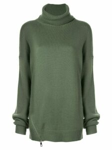 Tibi turtleneck jumper - Green