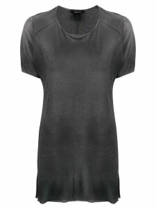 Avant Toi oversized short-sleeve T-shirt - Grey