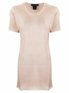 Avant Toi long short-sleeve T-shirt - NEUTRALS