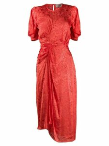 Preen By Thornton Bregazzi Lally satin dress - Red