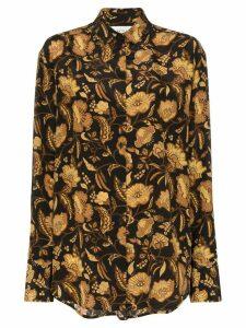 Matteau floral print shirt - Black