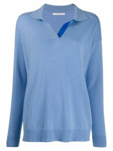 Chinti and Parker knitted jumper - Blue