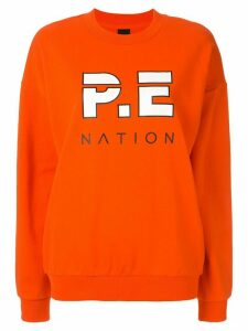 P.E Nation Full Strength sweater - ORANGE