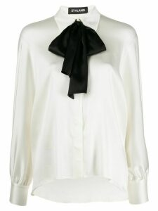 Styland straight-fit shirt - White