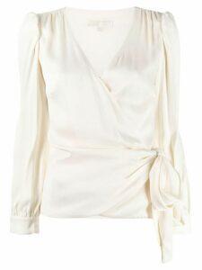 Michael Michael Kors tie-waist blouse - White