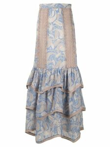 We Are Kindred Sorrento maxi skirt - Blue