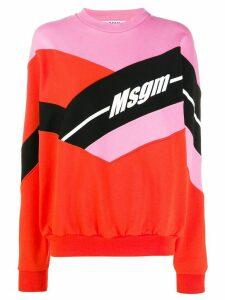 MSGM logo sweatshirt - PINK