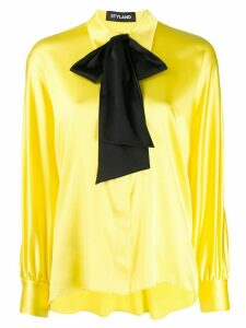 Styland bow detail blouse - Yellow