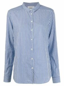 Ba & Sh striped long-sleeve shirt - Blue