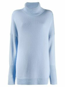 Chinti and Parker cashmere roll-neck jumper - Blue