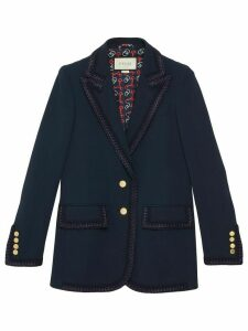 Gucci single-breasted jacket - Blue