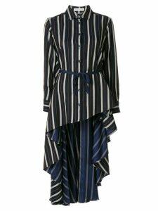 Palmer//Harding striped Super shirt - Blue