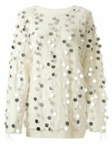 Ports 1961 sequin jumper - White