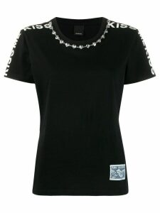 Pinko Kiss Me T-shirt - Black