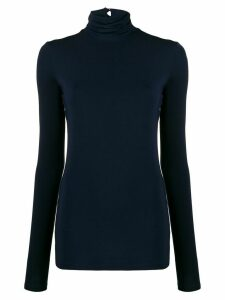 Styland stretch fit roll neck sweatshirt - Blue