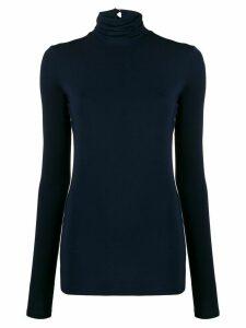 Styland stretch fit roll neck sweatshirt - Blue