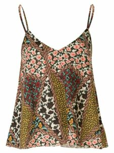 The Upside Keanu floral-print blouse - Green