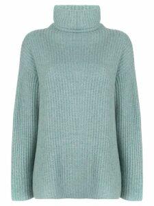 Le Kasha Lisbon cashmere jumper - Blue