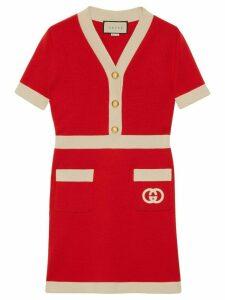 Gucci Interlocking G dress - Red