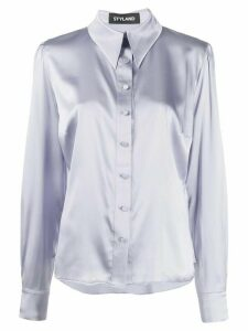 Styland button-up shirt - PURPLE