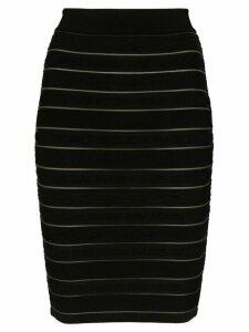 Balmain stretch-knit skirt - Black