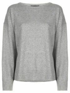 Nili Lotan oversized cashmere jumper - Grey