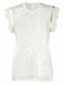Philosophy Di Lorenzo Serafini lace-embroidered top - White