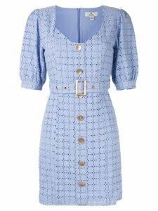 We Are Kindred Vienna crochet mini dress - Blue