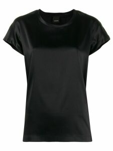 Pinko Farsia satin T-shirt - Black