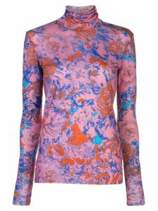 Anntian Rolli turtle neck top - PINK
