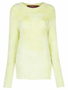 Sies Marjan Dion ribbed slim-fit jumper - Green