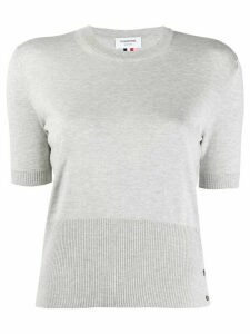 Thom Browne relaxed fit pullover - Grey