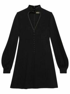 Gucci heart cut-out dress - Black