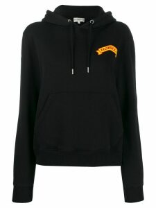 Fiorucci Cheetah relaxed-fit hoodie - Black
