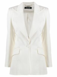 Styland fitted formal blazer - White