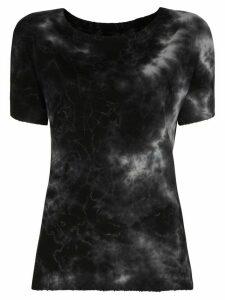 Nili Lotan Brady tie-dye T-shirt - Black