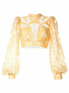 Acler Meredith blouse - Yellow