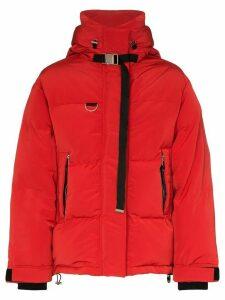 Shoreditch Ski Club Willow zip-front puffer jacket