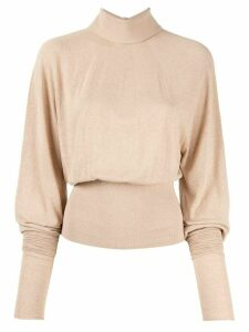 Lemaire mock neck jumper - 245 GINGER BEIGE