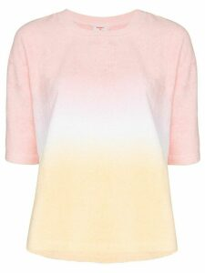 Terry Terry gradient cotton T-shirt - PINK