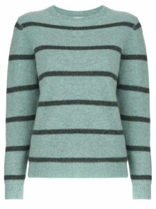 Le Kasha Toucques striped jumper - Blue