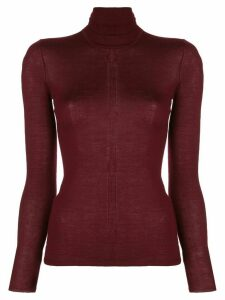 Gabriela Hearst Costa turtleneck jumper - Red