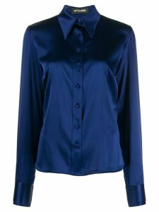 Styland fitted button down shirt - Blue